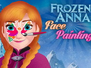 Frozen Anna Face Painting Game