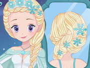 Elsa Real Wedding Braids Game