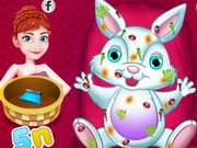 Anna Easter Bunny Care Game