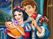 Snow White Baby Feeding Game