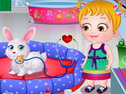 Baby Hazel Pet Hospital Game