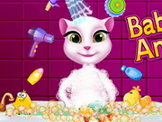 Baby Talking Angela Care Game