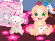 Baby Rosy Bedroom Decoration Game