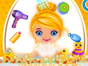 Baby Cinderella Fun Bath Game