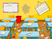 Smart Classroom Clean Up Game