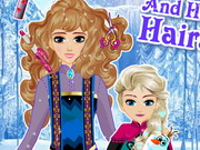 other, girl , hair , kid , makeover,makeup , elsa , and , her , mom , hairstyle