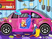 Clean My Pink Car 3 Game