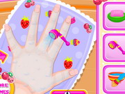 Baby Barbie Kawaii Nails Game