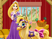 Rapunzel Pony Care Game