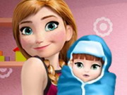 Anna And The New Born Baby Game