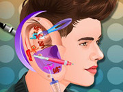 Justin Bieber Ear Infection Game
