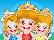 Baby Hazel Princess Makeover Game