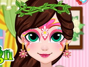 Fairy Face Painting Design Game