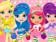 Baby Barbie Strawberry Costumes Game