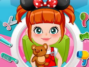 Baby Beauty Salon Game