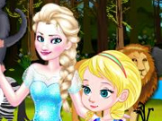 Baby Elsa Forest Trip Game