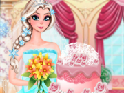 Elsa Wedding Cake Game