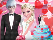 Elsa And Jack Wedding Game