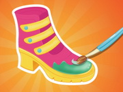 other, boy , coloring , drawing , girl , kid , boot , designer