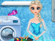 other, girl , elsa , washing , clothes