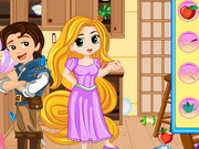 Rapunzel Messy Kitchen Game