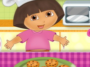 Dora Cooking Crackers Game