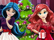 Disney Princesses And The Perfect Christmas Tree Game