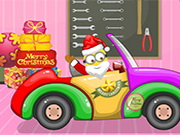 Santa Minion Christmas Car Game