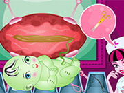 Frankie Stein Cesarean Pregnancy Game