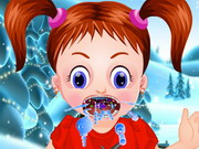 Baby Emma Winter Throat Problem Game