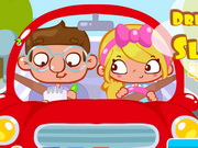 other, boy , driving , girl , kid , driving , lesson , slacking