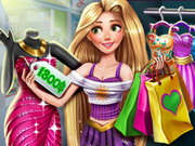 other, cartoon , girl , kid , princess , shopping , rapunzel , realife