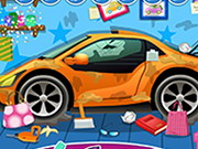 Clean Up Car Wash 3 Game