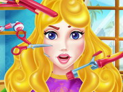 Aurora Hair Salon Game