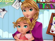 Baby Lessons With Anna Frozen Game
