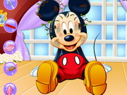 Mickey Mouse Facial Spa Game