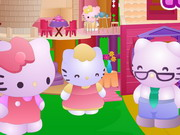 Hello Kitty Doll House Fix Game