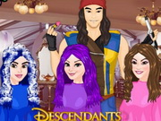 Descendants Hair Salon Game