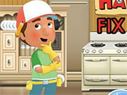 Handy Manny Fix The House Game