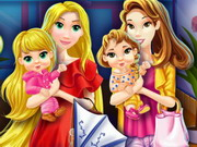 Mother Princesses Shopping Mall Game