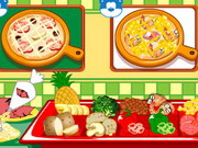 Make A Pizza Game
