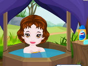 Baby Snow White Summer Care Game