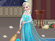 other, cartoon , girl , princess , elsa , clean , room