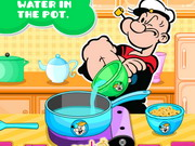 other, cartoon , cooking , girl , popeye , spinach , tortellini