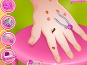 Baby Barbie Great Manicure Game
