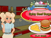 other, boy , cooking , food , girl , mia , spicy , beef , burger