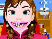 Frozen Anna Tooth Care Game