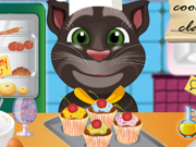 Talking Tom Cooking Class Game