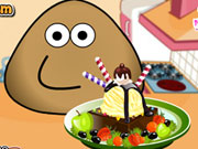 Pou Ice Cream Decoration Game