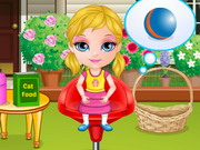 Baby Barbie Laundry Day Game